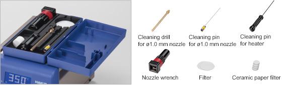 Tool box for maintenance kit