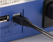 Link to a PC (A USB port available)