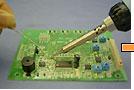 1. Perform soldering