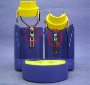 HAKKO FH-201 Iron Holder : Adjustable iron holders designed to be user-friendly