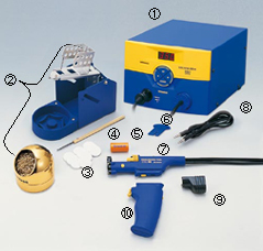 HAKKO FM-204 Packing List