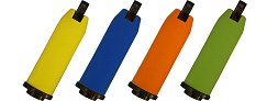 Sleeve assemby is available in four colors