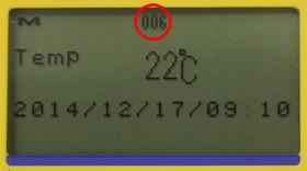 計算溫度測量的數量