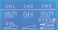 使用大型LCD面板輕鬆操作