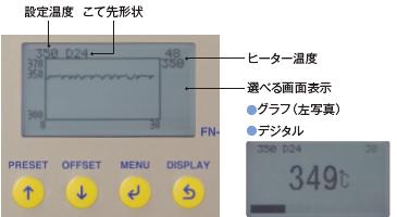 可以在液晶显示屏上查看实时工作状态