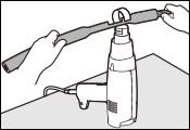 使用熱縮管/噴嘴/鉤型