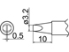 T20-D32 コテ先(3.2D型) T20-D32 白光(HAKKO)