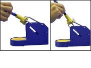 T刀架HAKKO FH-200專為能夠改變烙鐵角度的人而設計