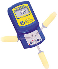 尖端溫度計HAKKO FG-100的測量實例