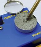 用FS-100重新焊接镀层。