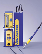 N2システム セット例 はんだごてステーション HAKKO FX-951 はんだごて HAKKO FM-2026 窒素ガス発生装置 HAKKO FX-780 N2ステーション(窒素ガス流量計) HAKKO FX-791
